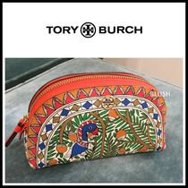 Tory Burch Tropical Patterns Other Animal Patterns Leather Logo