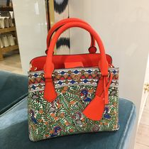 Tory Burch Tropical Patterns 2WAY Other Animal Patterns Leather