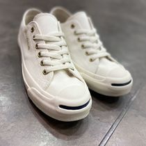 CONVERSE JACK PURCELL Rubber Sole Casual Style Unisex Street Style Plain Logo