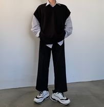 Unisex Plain Oversized Sweaters