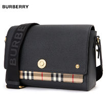 Burberry Other Plaid Patterns Chain Crossbody Logo Shoulder Bags
