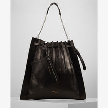 3.1 Phillip Lim Casual Style Bag in Bag A4 Plain Leather Party Style Purses
