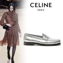 CELINE Casual Style Street Style Plain Other Animal Patterns