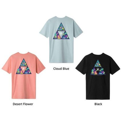 HUF More T-Shirts Unisex Street Style Cotton Short Sleeves Logo T-Shirts 4