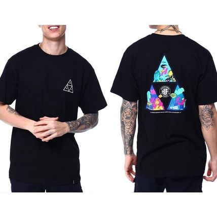 HUF More T-Shirts Unisex Street Style Cotton Short Sleeves Logo T-Shirts 7