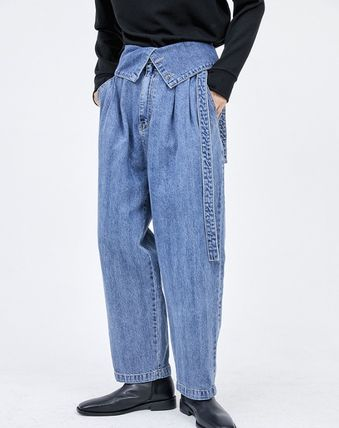 Unisex Plain Cotton Oversized Cargo Pants