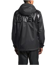 THE NORTH FACE Nylon Street Style Plain Windbreaker Raincoat Logo Jackets