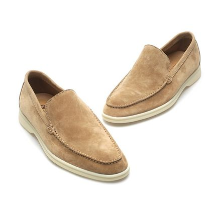Loafers Street Style Plain Loafers & Slip-ons