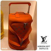 Louis Vuitton MONOGRAM Unisex Street Style Soft Type Carry-on Luggage & Travel Bags