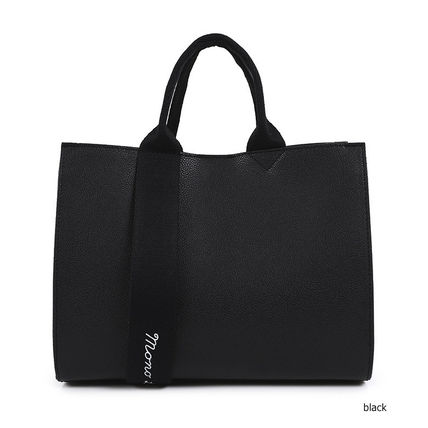 2WAY Plain Office Style Formal Style  Bridal Totes