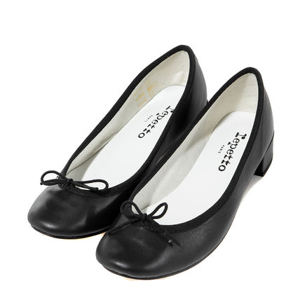 repetto Casual Style Plain Leather Party Style Office Style