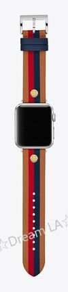 Tory Burch Leather Apple Watch Belt Watches