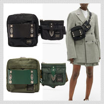 TOGA Casual Style Unisex Collaboration Crossbody Hip Packs