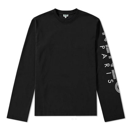 KENZO More T-Shirts Crew Neck Pullovers Unisex Street Style Long Sleeves 2