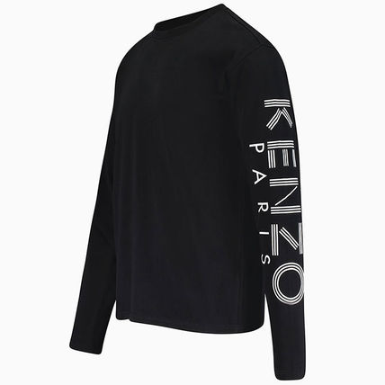 KENZO More T-Shirts Crew Neck Pullovers Unisex Street Style Long Sleeves 4