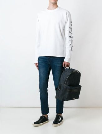 KENZO More T-Shirts Crew Neck Pullovers Unisex Street Style Long Sleeves 5