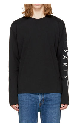 KENZO More T-Shirts Crew Neck Pullovers Unisex Street Style Long Sleeves 6