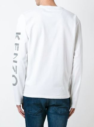 KENZO More T-Shirts Crew Neck Pullovers Unisex Street Style Long Sleeves 7