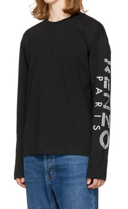 KENZO More T-Shirts Crew Neck Pullovers Unisex Street Style Long Sleeves 8