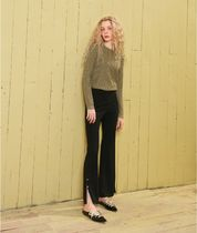ELF SACK Casual Style Street Style Plain Long Party Style