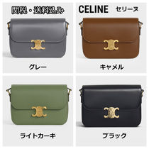 CELINE Casual Style Formal Style  Neon Color Shoulder Bags