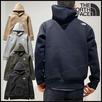THE NORTH FACE Pullovers Street Style Long Sleeves Plain Logo Hoodies