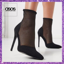 ASOS Casual Style Pin Heels Pointed Toe Pumps & Mules