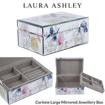 Laura Ashley Blended Fabrics Jewelry Organizer Clear Furniture