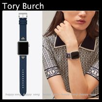 Tory Burch ROBINSON Casual Style Leather Office Style Elegant Style