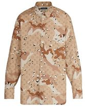 Louis Vuitton Camo Dna Shirt