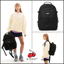 KIRSH Casual Style Street Style A4 Logo Satchels