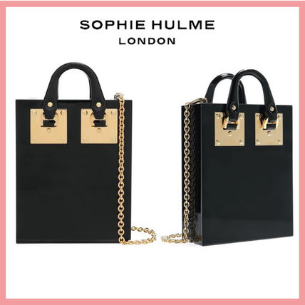 Casual Style 2WAY Plain Office Style Totes