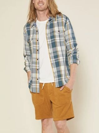 Outer known Shirts Long Sleeves Cotton Surf Style Shirts 3