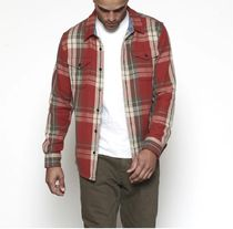 Outer known Shirts Long Sleeves Cotton Surf Style Shirts 9
