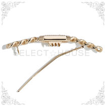 CHANEL Costume Jewelry Barettes Party Style Elegant Style Clips