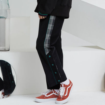 Other Plaid Patterns Casual Style Unisex Street Style