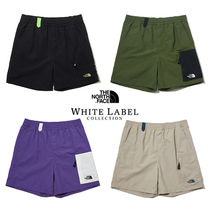 THE NORTH FACE WHITE LABEL Street Style Plain Logo Shorts
