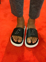 Christian Louboutin Pool Street Style Loafers & Slip-ons