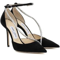 Jimmy Choo Casual Style Suede Studded Plain Pin Heels Party Style