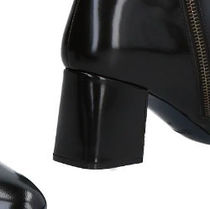 JIL SANDER NAVY Plain Leather Boots Boots