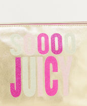 JUICY COUTURE Casual Style Logo Bags