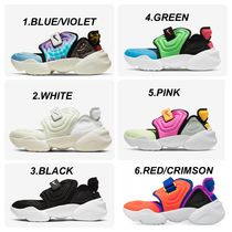 Nike AIR RIFT Round Toe Lace-up Casual Style Unisex Street Style Plain