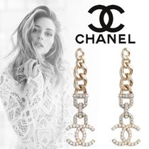CHANEL Costume Jewelry Casual Style Unisex Blended Fabrics