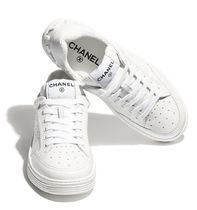 CHANEL Casual Style Street Style Low-Top Sneakers
