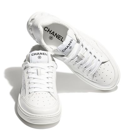 CHANEL Low-Top Casual Style Street Style Low-Top Sneakers
