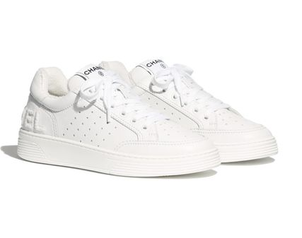 CHANEL Low-Top Casual Style Street Style Low-Top Sneakers 2