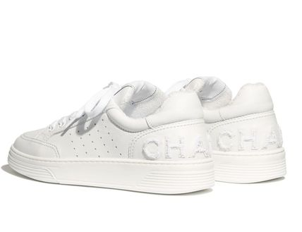 CHANEL Low-Top Casual Style Street Style Low-Top Sneakers 3