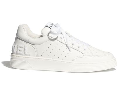 CHANEL Low-Top Casual Style Street Style Low-Top Sneakers 4