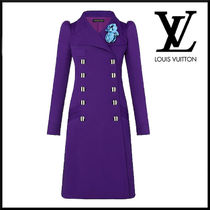 Louis Vuitton Casual Style Wool Elegant Style Peacoats