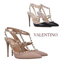 VALENTINO Studded Pointed Toe Pumps & Mules